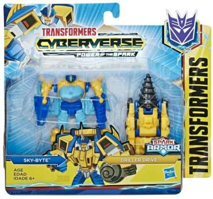 Фигурка Hasbro Transformers Кибервселенная Спарк Армор 13 см в ассортименте