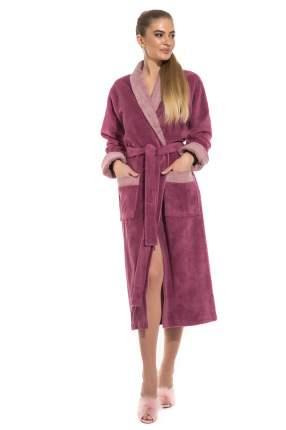 Женский бамбуковый халат Belette Peche Monnaie 735, розовато-лиловый, XL