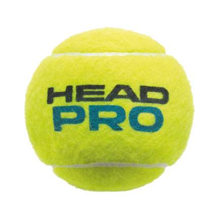Мяч теннисный Head Pro 3B 2017, желтый