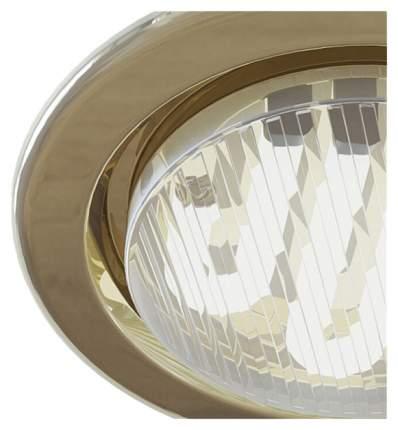 Встраиваемый светильник Maytoni Metal DL293-01-G Золото