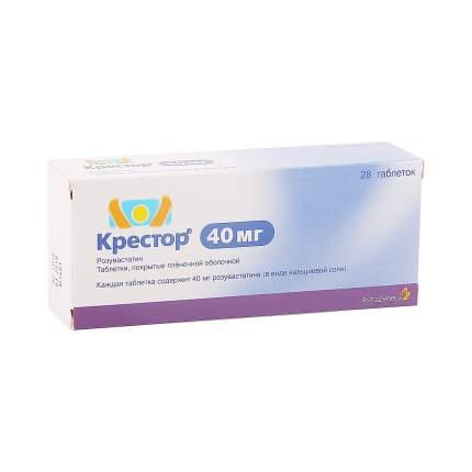 Крестор таблетки 40 мг 28 шт.