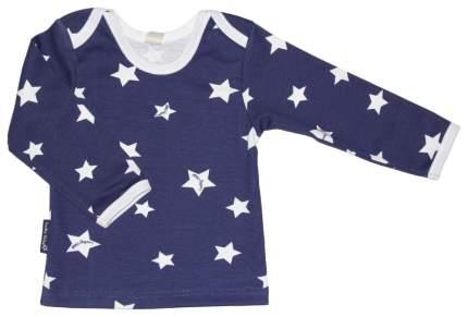 Комплект футболок 3 шт. Lucky Child Котики темно-синий р.68