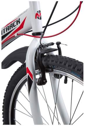 "Велосипед Novatrack 24"" Racer рама 12"" Белый"