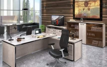 Письменный стол SKYLAND SKY_sk-01231766, дуб каньон/темно-коричневый
