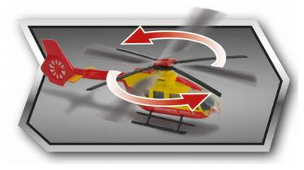 Вертолет Majorette EC145 13 см в ассортименте