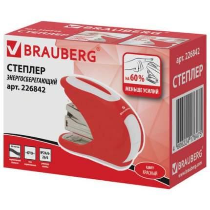 """Степлер BRAUBERG 226842 """"Leistung"""",№24/6,до 30л, Без усилий, глубина закладки 33мм"""