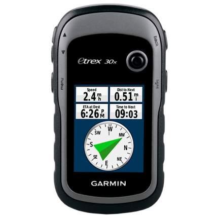 Туристический навигатор Garmin eTrex 30x черный/серый