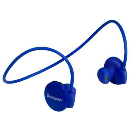 Беспроводные наушники Defender FreeMotion B611 Blue