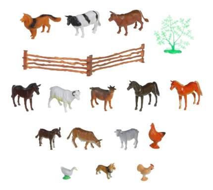 Набор животных Bondibon ребятам о зверятах, домашние животные и птицы, 2-3,5