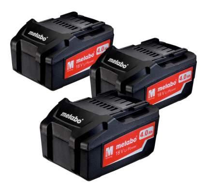 Набор аккумулятор и зарядное устройство для электроинструмента metabo 685049000