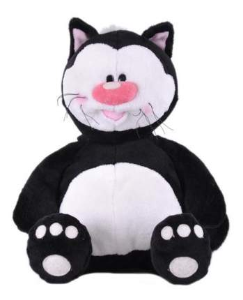 Мягкая игрушка Gulliver Кот КОТЯ черный сидячий, 23 см