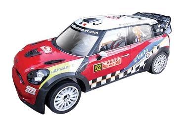 Машина Bburago Ралли WRC Mini Countryman WRC (Команда №52) 1:32