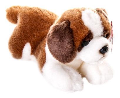 Мягкая игрушка Aurora 61-807 Сенбернар Щенок, 22 см