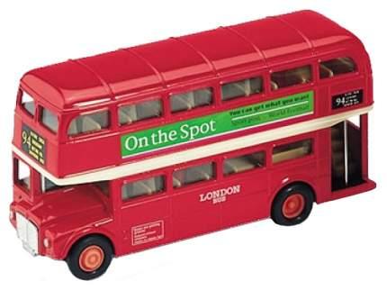 Коллекционная модель Welly London Bus 99930