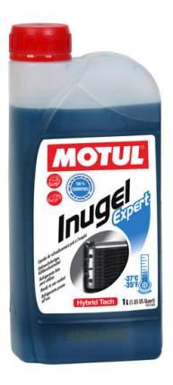 Антифриз MOTUL Inugel Expert G13 сине-зеленый готовый антифриз 1л
