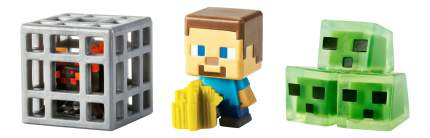 Игровой набор Minecraft Набор из 3х фигурок персонажей minecraft CGX24 DKD56
