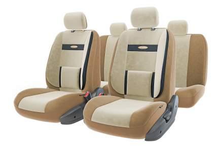 Комплект чехлов на сиденья Autoprofi Comfort COM-1105 D.BE/L.BE (M)
