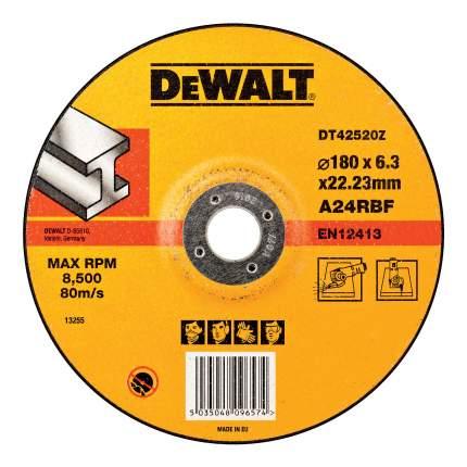 Шлифовальный диск по металлу для угловых шлифмашин DeWALT DT42520Z-QZ