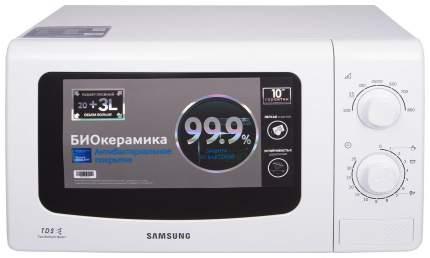 Микроволновая печь соло Samsung ME81KRW-3/BW white