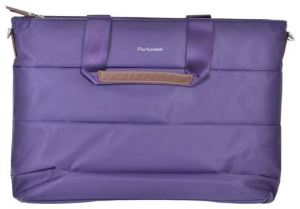 "Сумка для ноутбука 15.6"" PortCase KCB-74 фиолетовая"