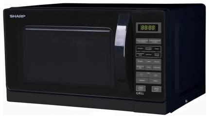 Микроволновая печь с грилем Sharp R-6672RK black