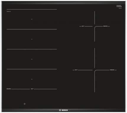 Встраиваемая варочная панель индукционная Bosch PXE675DC1E Black