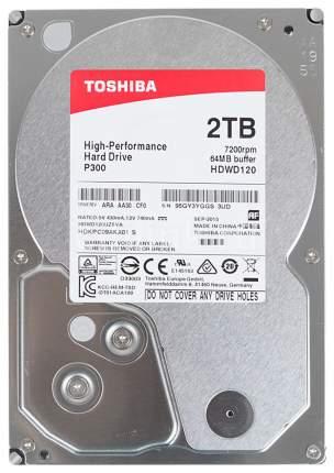 Внутренний жесткий диск Toshiba P300 2TB (HDWD120UZSVA)