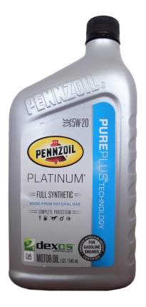 Моторное масло Pennzoil Platinum 5w-30 0,946л