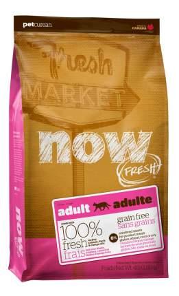 Корм для кошек NOW FRESH Grain Free индейка, утка, овощи 3,6 кг