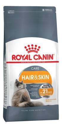 Сухой корм для кошек ROYAL CANIN Hair & Skin Care, для кожи и шерсти, 2кг