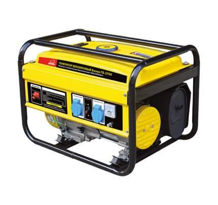 Бензиновый генератор БИЗОН ГБ-2700 желтый