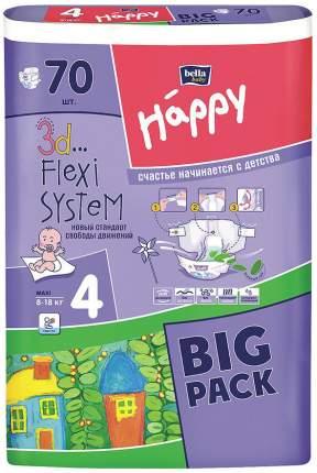 Подгузники Bella Baby Happy Maxi 4 (8-18 кг), 70 шт.
