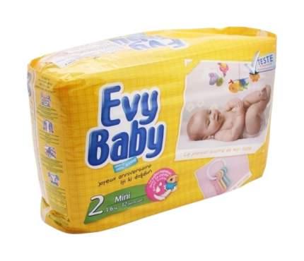 Подгузники для новорожденных Evy Baby Mini 2 (3-6 кг), 32 шт.