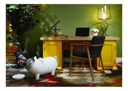 "Корзина для хранения игрушек CYBEX ""Свинка Wanders Hausschwein White"""