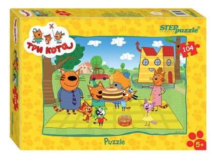 Пазл Step Puzzle Три кота 104 детали