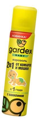 Аэрозоль от комаров и мошек для детей Gardex Baby 80 мл