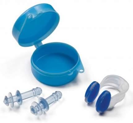 Беруши и зажим для носа Intex 55609 голубой