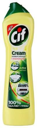 Универсальное чистящее средство Cif active лимон 500 мл