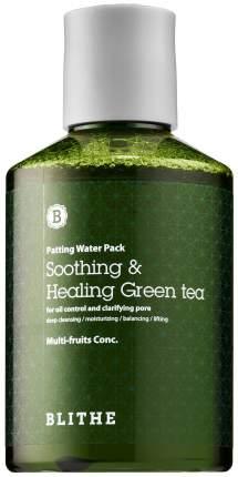 Маска для лица Blithe Soothing & Healing Green Tea 200 мл