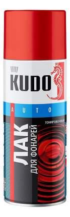 Лак для тонировки фар KUDO KU9022 красный 520 мл