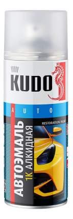 Эмаль автомобильная «белая 201» KUDO ,520 мл