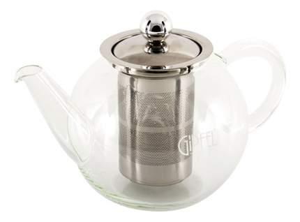 GIPFEL Стеклянный заварочный чайник с фильтром SHUGA 800мл