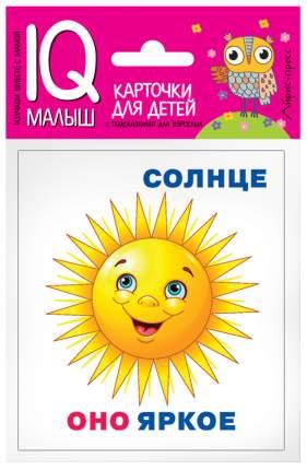 Набор карточек для детей Айрис-пресс Умный малыш. Он, она, они, оно. (25734)