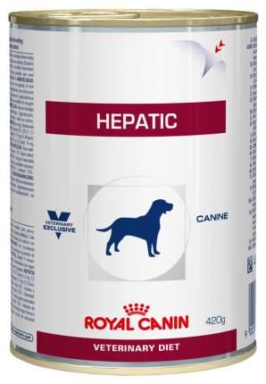 Консервы для собак ROYAL CANIN Hepatic, домашняя птица, 420г
