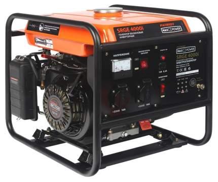 Инверторный генератор Patriot MaxPower SRGE 4000i 474101620