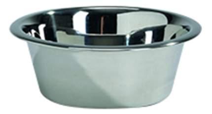 Одинарная миска для собак Beeztees, сталь, серебристый, 0.45 л