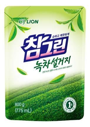 Средство для мытья детской посуды CJ Lion Chamgreen с ароматом зеленого чая 800 г
