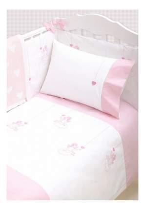 Luxberry Чехол для бампера Angels Цвет: Белый-Розовый