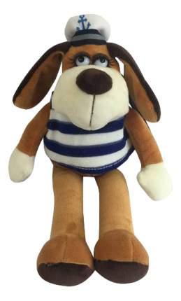 Мягкая игрушка Teddy Собака в тельняшке, 18 см