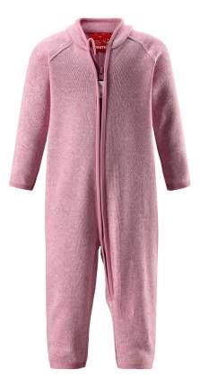 Комбинезон Reima флисовый Fleece overall Tahti нежно-розовый р.80